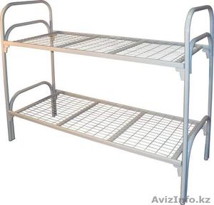 Кровати металлические для рабочих от производителя оптом - Изображение #4, Объявление #914846