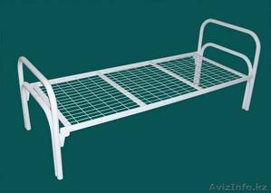 Кровати металлические для рабочих от производителя оптом - Изображение #3, Объявление #914846
