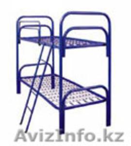 Металлические кровати с ДСП спинками для гостиниц, больниц - Изображение #4, Объявление #1265751