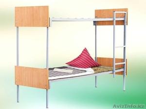 Металлические кровати с ДСП спинками для гостиниц, больниц - Изображение #2, Объявление #1265751