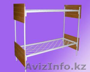 Металлические кровати с ДСП спинками для гостиниц, больниц - Изображение #1, Объявление #1265751