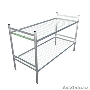 Одноярусные металлические кровати для интернатов, оптом - Изображение #1, Объявление #1275668