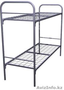 Кровати одноярусные металлические, кровати металлические двухъярусные, оптом - Изображение #1, Объявление #1425088