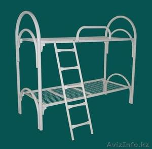 Кровати одноярусные металлические, кровати металлические двухъярусные, оптом - Изображение #2, Объявление #1425088