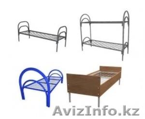 Кровати металлические для детских лагерей, кровати для гостиниц, кровати оптом. - Изображение #2, Объявление #1418620