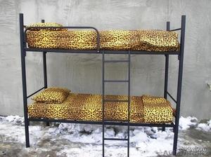 Кровати металлические для бытовок, кровати трёхъярусные для рабочих, оптом - Изображение #3, Объявление #1435290