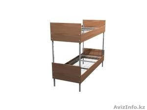 Кровати металлические для бытовок, кровати трёхъярусные для рабочих, оптом - Изображение #4, Объявление #1435290