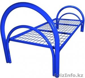 Кровати металлические для бытовок, кровати трёхъярусные для рабочих, оптом - Изображение #1, Объявление #1435290