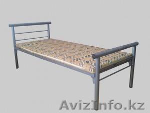 Кровати металлические для бытовок, кровати трёхъярусные для рабочих, кровати опт - Изображение #3, Объявление #1433330