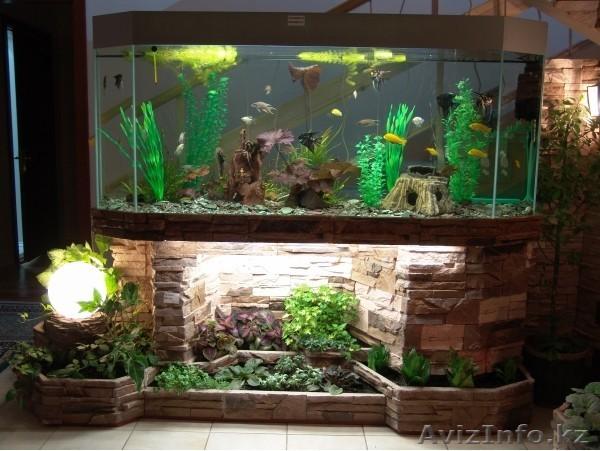 Изготовление больших аквариумов