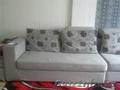 мягкая мебель(диван+ пуфик)