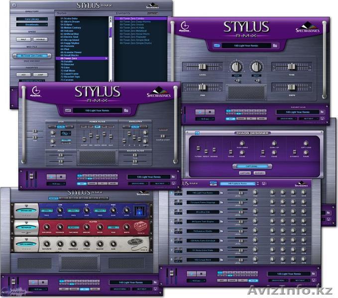 Виртуальная Драм Машина Stylus Remix - Отличные барабаны, Объявление #1319975