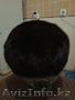 Продам срочно норковую женскую шапку берет 56-57 р