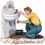 Услуги сантехника, работы электрика, вызов универсала на дом в Астане.