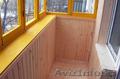 Отделка балконов вагонкой в Астане