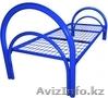 Кровати металлические для бытовок, кровати трёхъярусные для рабочих, оптом, Объявление #1435290