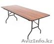 Складные столы и складные стулья