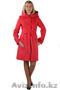 Пальто для стильной женщины,  каралловый цвет