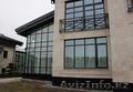 Дерево-алюминиевые окна из лиственницы с Белоруссии Астана