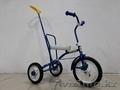 Детский трехколесный велосипед Балдырган с родительской ручкой/Подарок