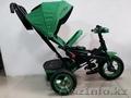 Трехколесный велосипед Барс с надувными колесами/Отличное качество/