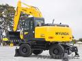 Экскаваторы на колёсном ходу Hyundai R140W-9S(в наличие)