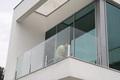 Ограждения и перила из стекла