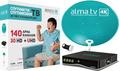 Алма ТВ спутниковое телевидение с установкой
